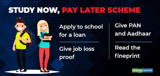 Study Now, Pay Later scheme