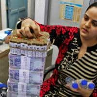 Rupee ends near day's low at 73.25 per dollar