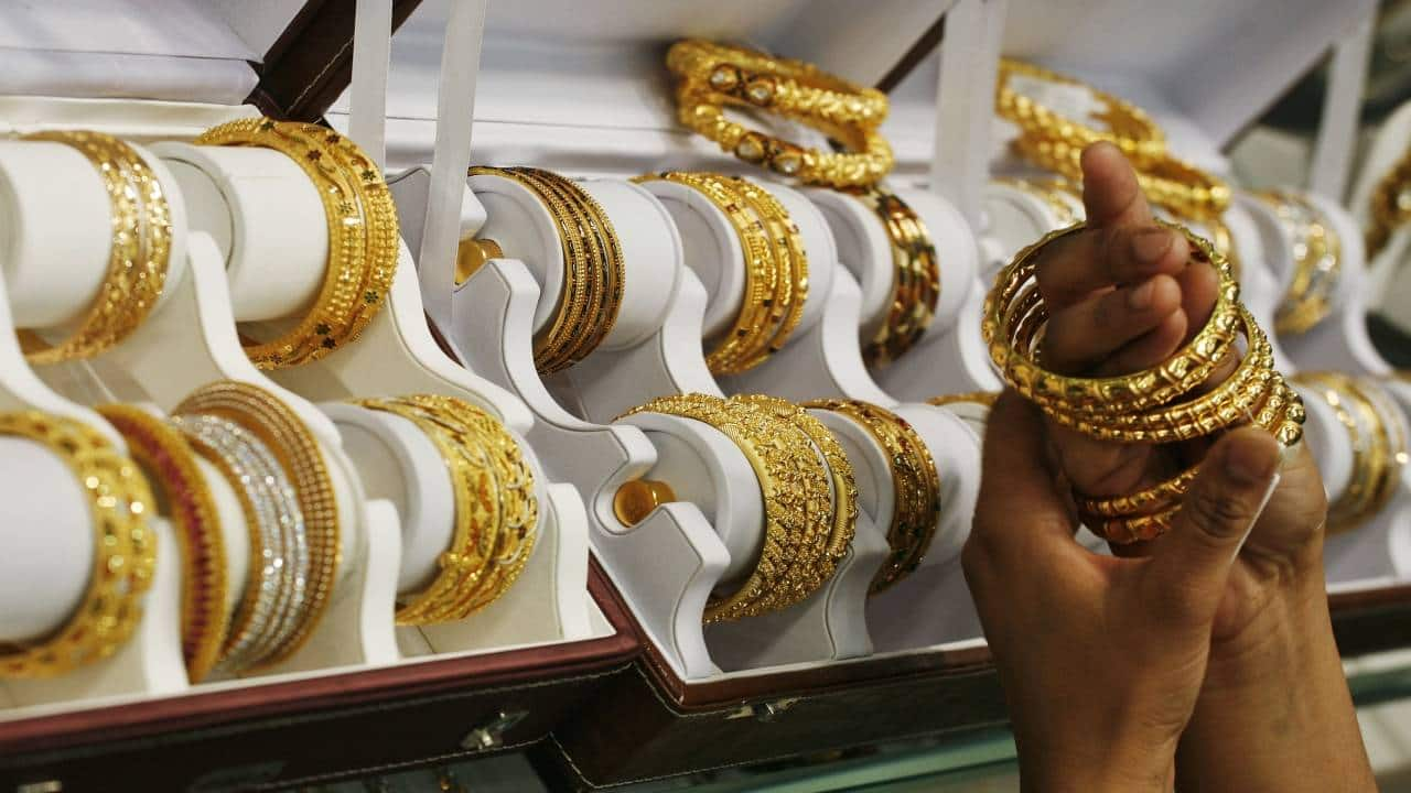 Gold prices slip to Rs 47,351/10 gram on firm rupee; silver corrects Rs 727 a kg