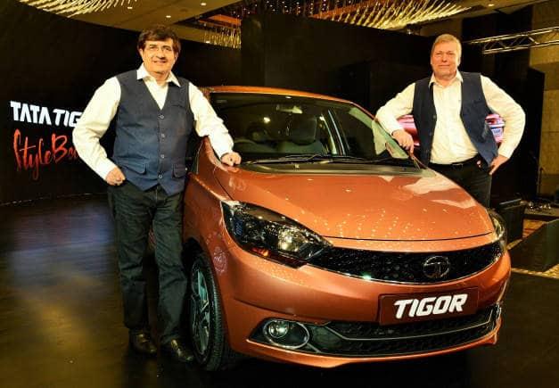 Image 1 – Tata Motors launches India's first Styleback- Tata Tigor. (L t... (1)