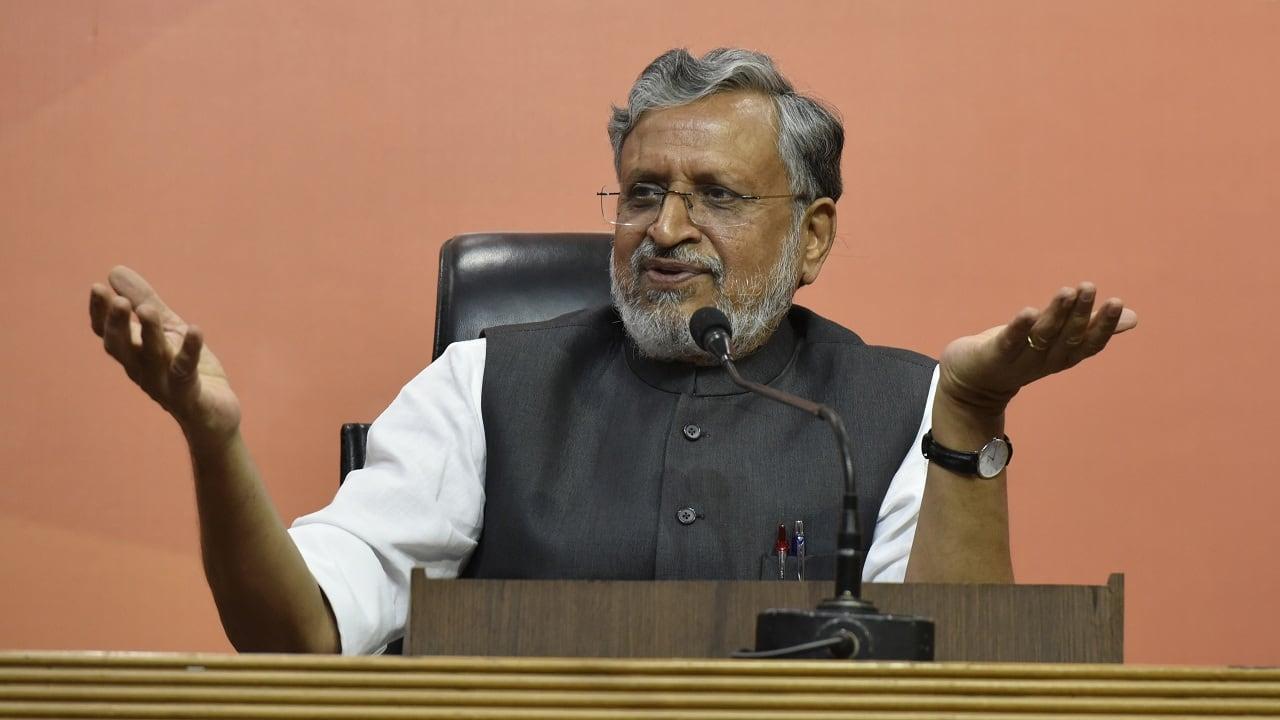 Bihar Elections 2020:  Deputy CM Sushil Modi tests positive for COVID-19, hospitalised
