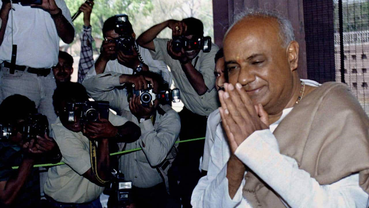 Know Your Leader | Vokkaliga icon HD Deve Gowda has been in active politics for 65 years