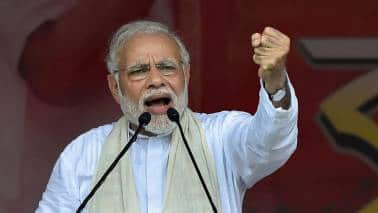 (File photo) Prime Minister Narendra Modi in West Bengal, on July 16, 2018. The 2019 Lok Sabha election saw BJP candidates leading in Singur but trailing by a big margin in Nandigram.