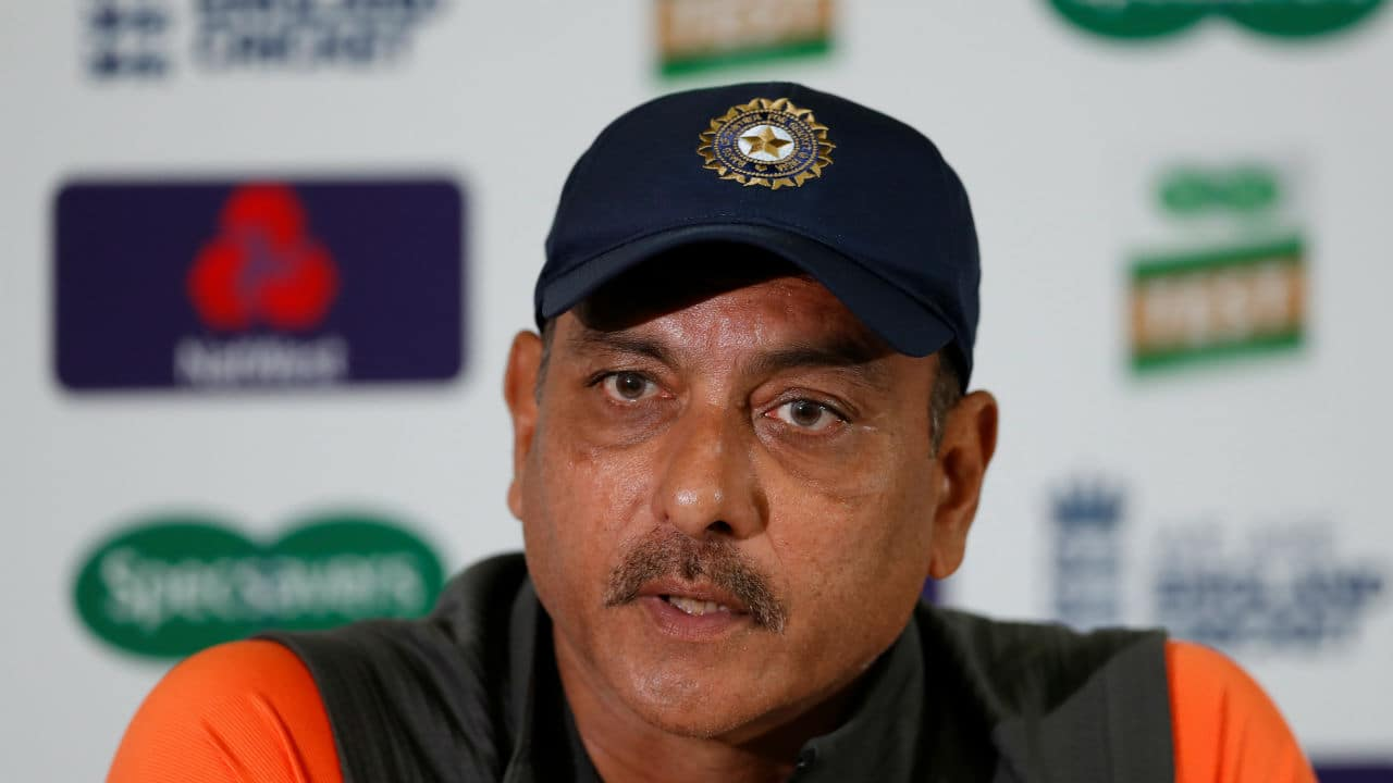 Watch: Ravi Shastri dressing room speech at Gabba after India victory