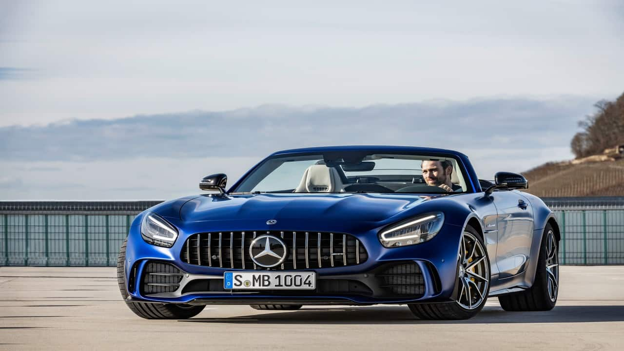 Meet Mercedes-AMG GT R Roadster: Convertible that sprints 0-100 kmph in 4 seconds