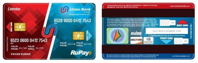 Union bank of India card