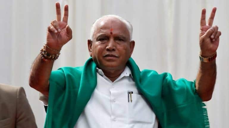 Karnataka political crisis highlights: BS Yeddyurappa to take oath as CM at 6 pm today