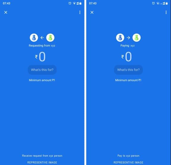 Google Pay_request and pay