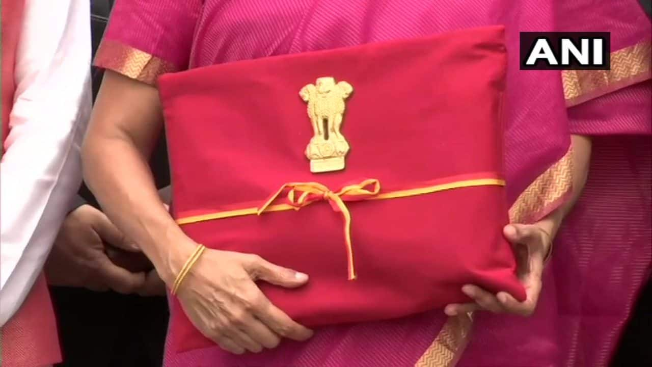 Budget 2019: Sitharaman carries 'bahi khata' for Budget speech - but where's the red briefcase?