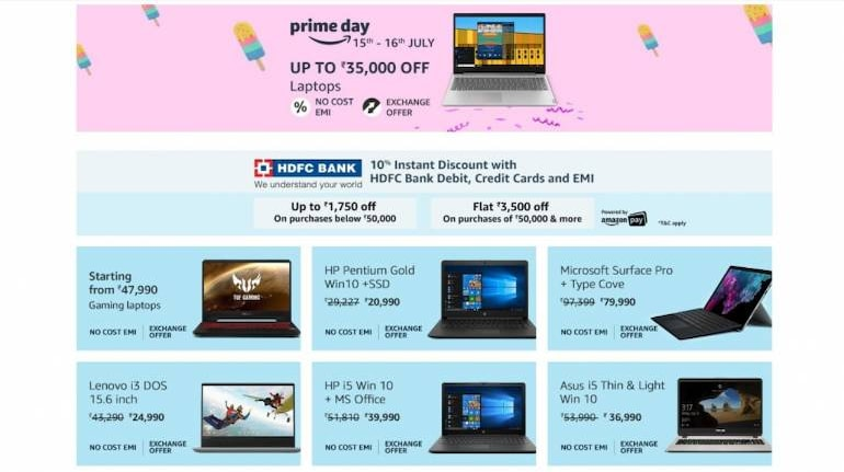 Amazon Prime Day Top Gaming Mainstream Laptop Deals