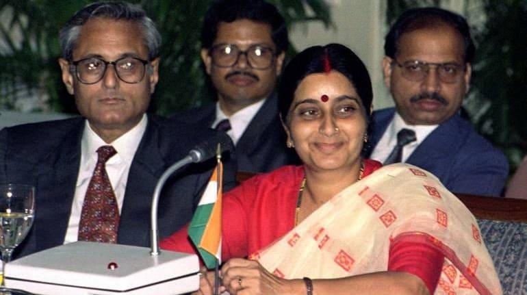 File image of Sushma Swaraj (Reuters)