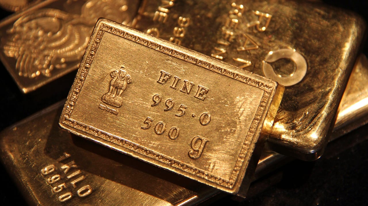 Gold slips to around Rs 46,200, silver eases as well