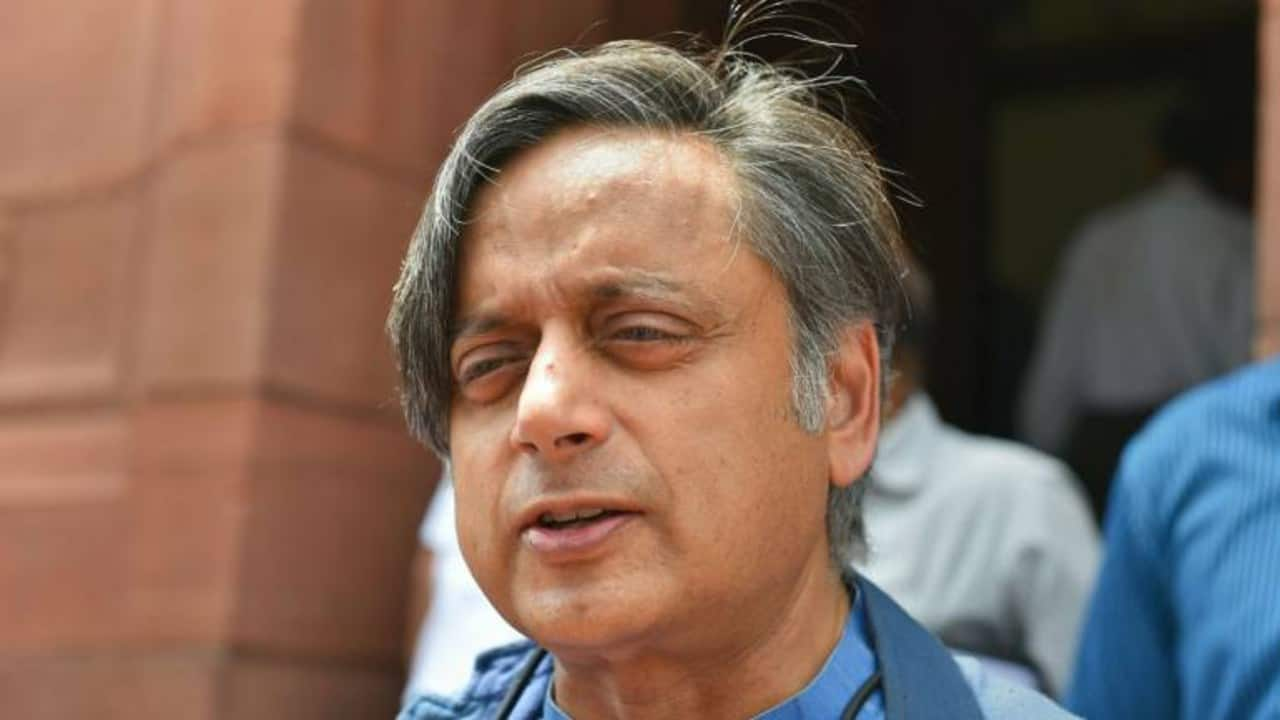 Tharoor slams Pakistan on Kashmir, says interference 'not welcome'