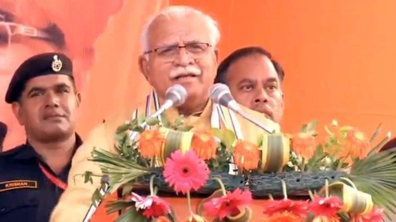 Manohar Lal Khattar-led BJP-JJP govt defeats Congress' no-confidence motion in Haryana Assembly