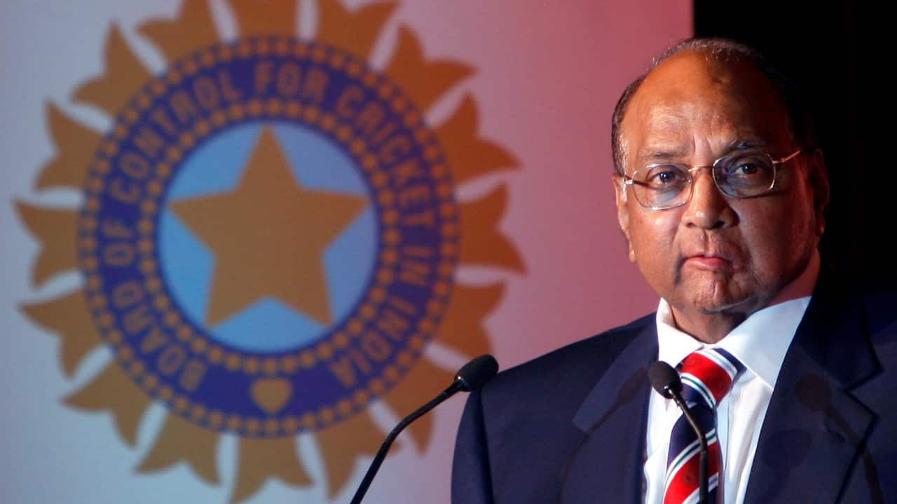 In this picture, then President of the BCCI Sharad Pawar speaks during the launch of the IPL, to be played in the globally popular Twenty20 format, in New Delhi on September 13, 2007. (Image: Reuters)