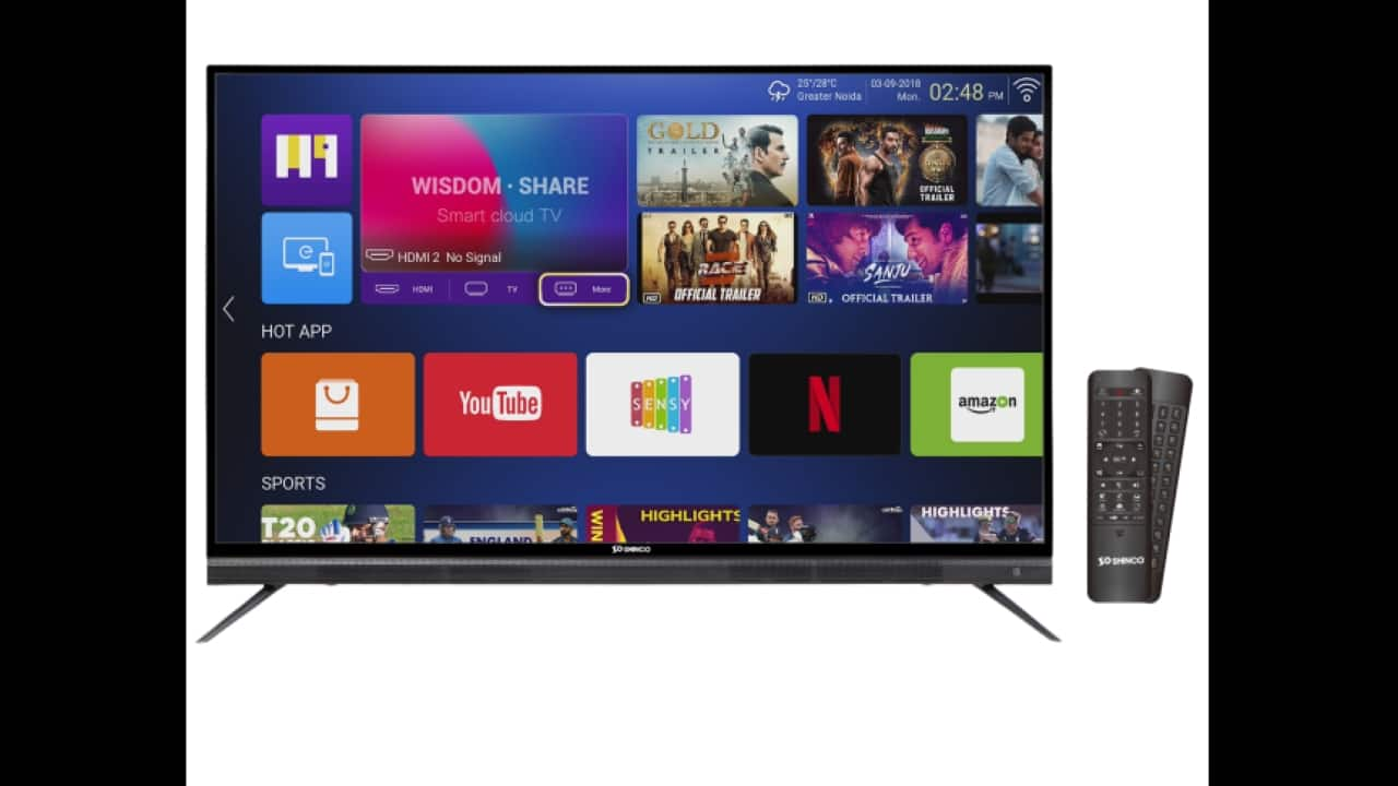 Amazon Great India Festival sale: Shinco 55-inch 4K TV at just Rs 5,500, here's why