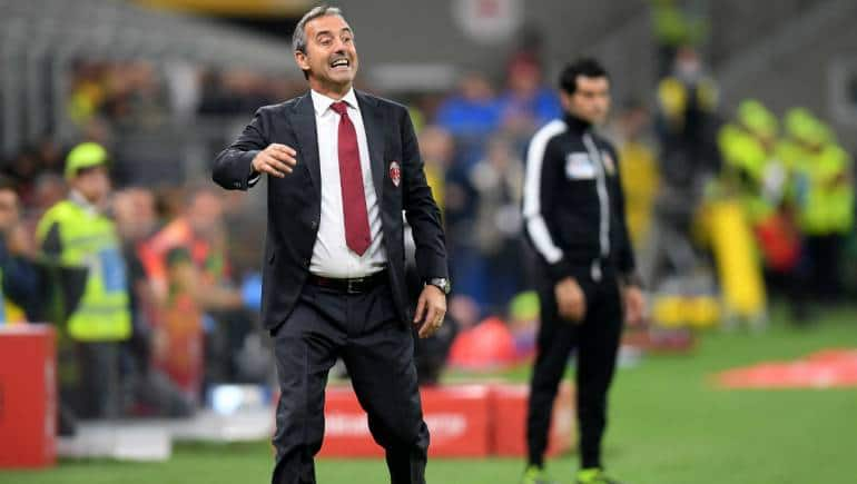 Giampaolo Becomes Serie A S First Casualty As Ac Milan Sack Coach Pioli Set To Take Over