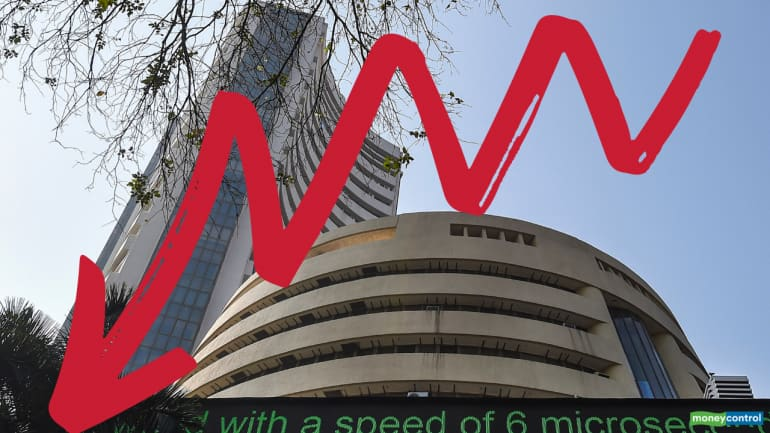 Taking Stock: Bulls run out of charge, Sensex breaks below 34,000 ...