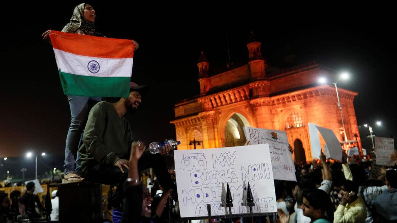 JNU violence protest: 'Free Kashmir' placard holding protester shares clarification and apology