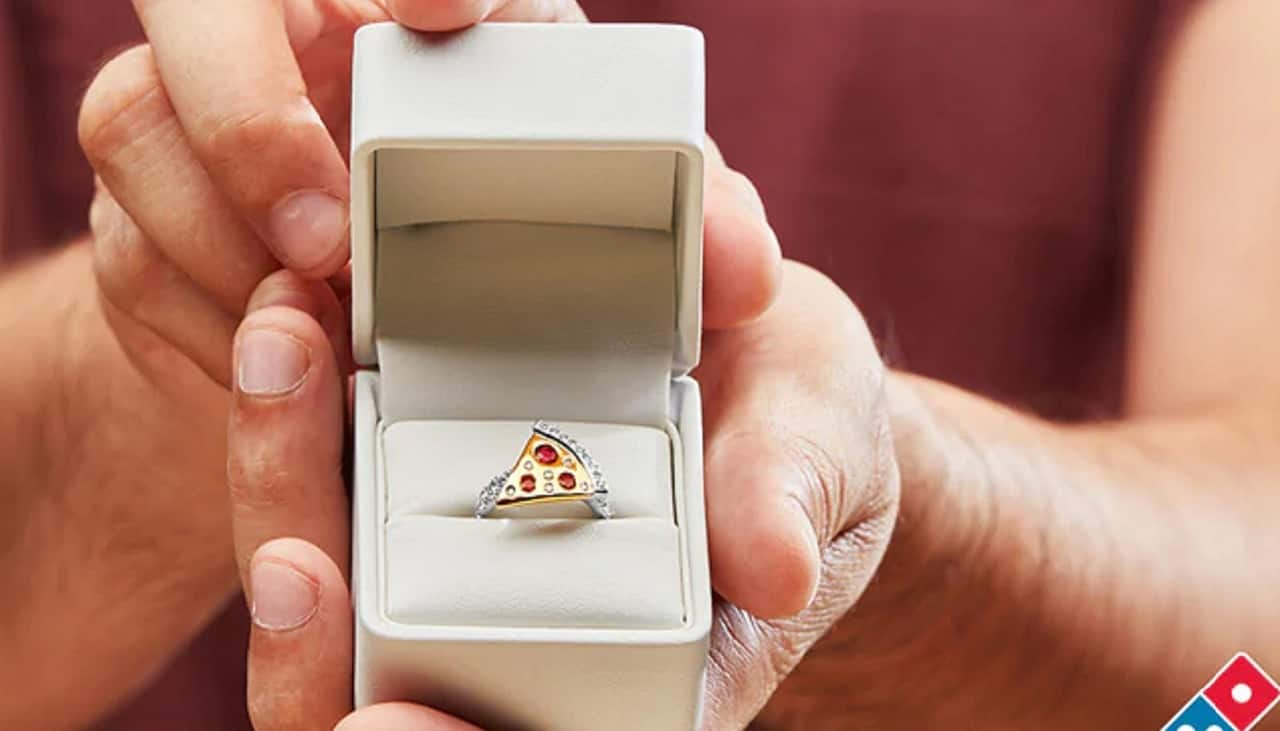 Domino's to give away pizza-shaped engagement ring worth $9,000