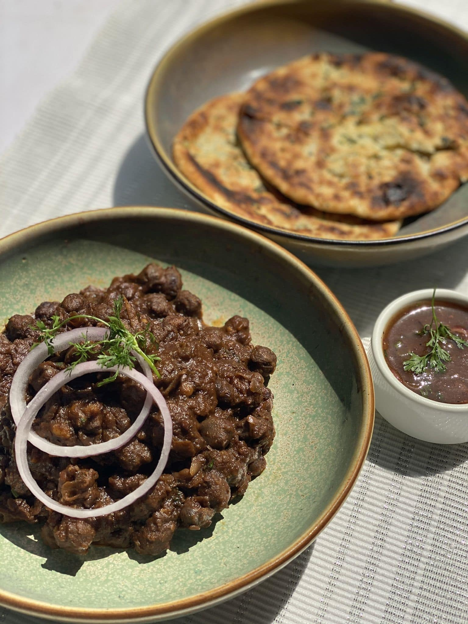 Chholey and Amritsari Kulcha.