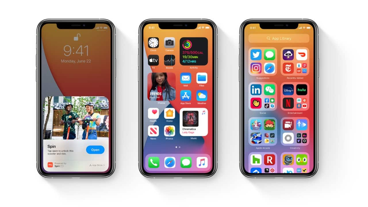 app library and widgets in ios 14