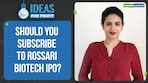 Should you subscribe to Rossari Biotech IPO?