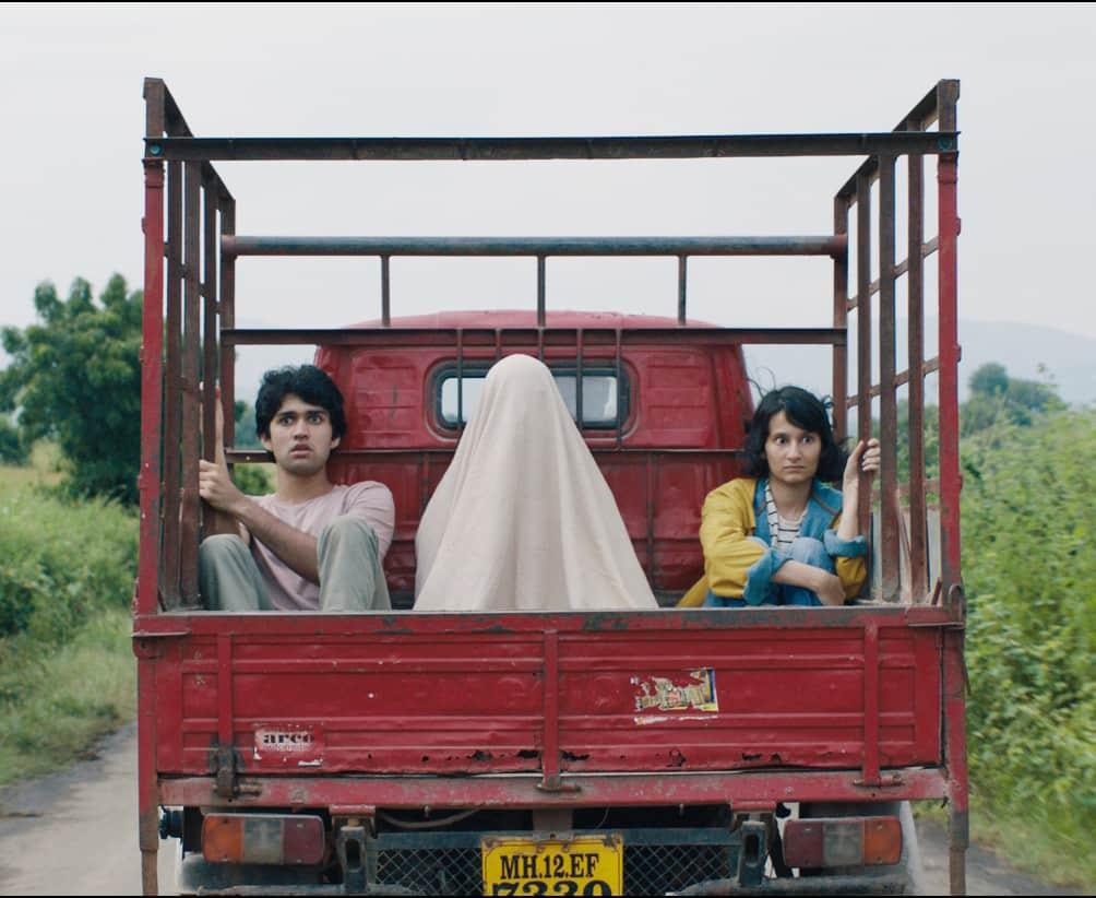 What Are the Odds? lead actors Karanvir Malhotra and Yashaswini Dayama.