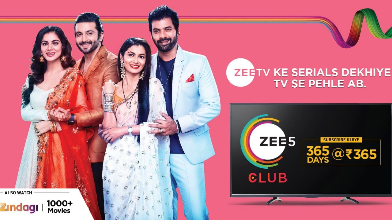 More OTTs launch small packs; ZEE5 announces new plan at Rs 365 a year
