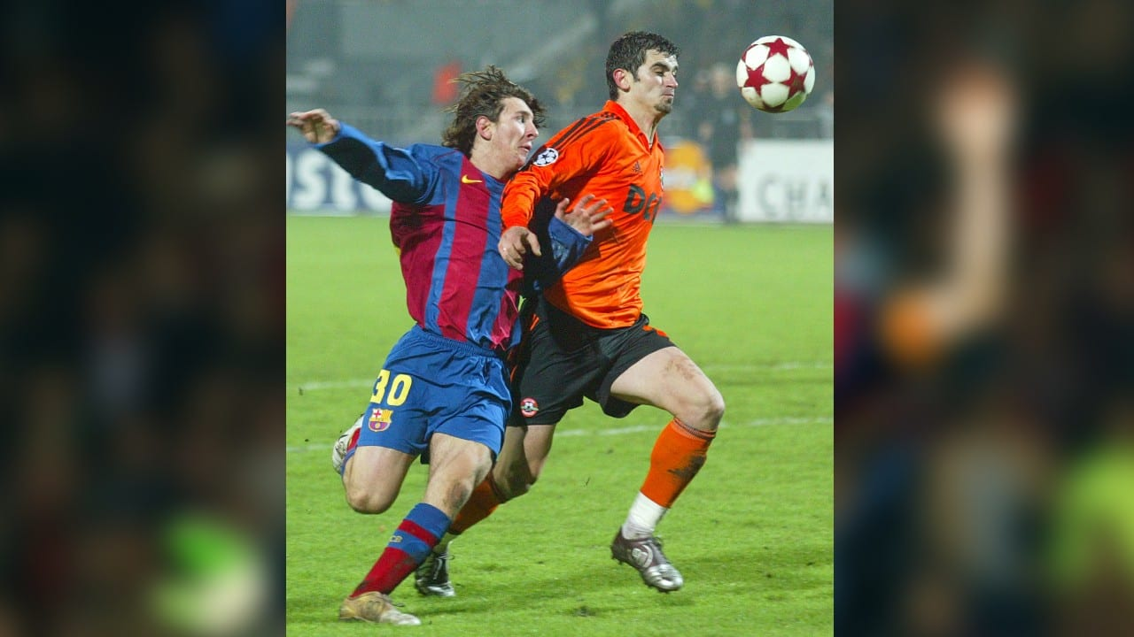 In Pics Lionel Messi S Historic 16 Year Career With Fc Club Barcelona