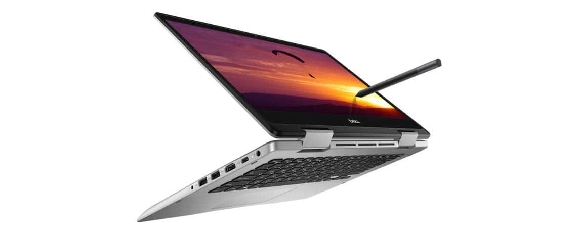 Dell Inspiron 5491 – Rs 58,099 – Dell's 2 in 1 touchscreen laptop is one of the few to come with a dedicated graphics processor. You get Nvidia MX230 GPU with 2GB dedicated memory paired with 10th generation Intel Core i3 processor, 4GB RAM and 512GB SSD storage. It has a 14-inch touchscreen with a Full HD resolution (1920 x 1080 pixels) with Cinema Color feature that delivers more vibrant on-screen colours. The laptop can be used in standard laptop mode for work, tent mode or stand mode for entertainment and tablet mode for drawing/writing using the Dell Active Pen. Weighing less than 2kg, the laptop has a battery life of up to 5 hours on a single charge