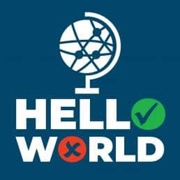 hello world logo