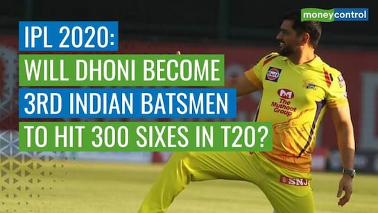 IPL 2020: MS Dhoni five sixes away from becoming third Indian batsman to hit 300 T20 maximums