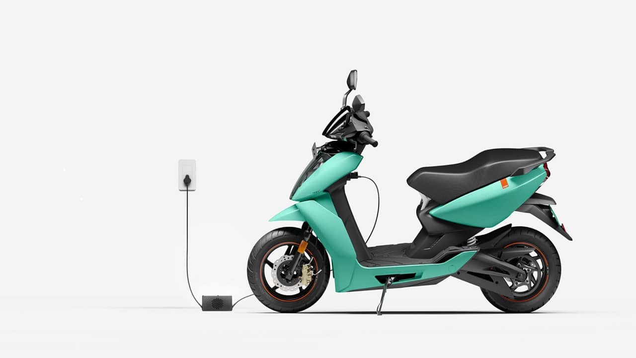 Of all the EV startups, why is Ather Energy's valuation down?