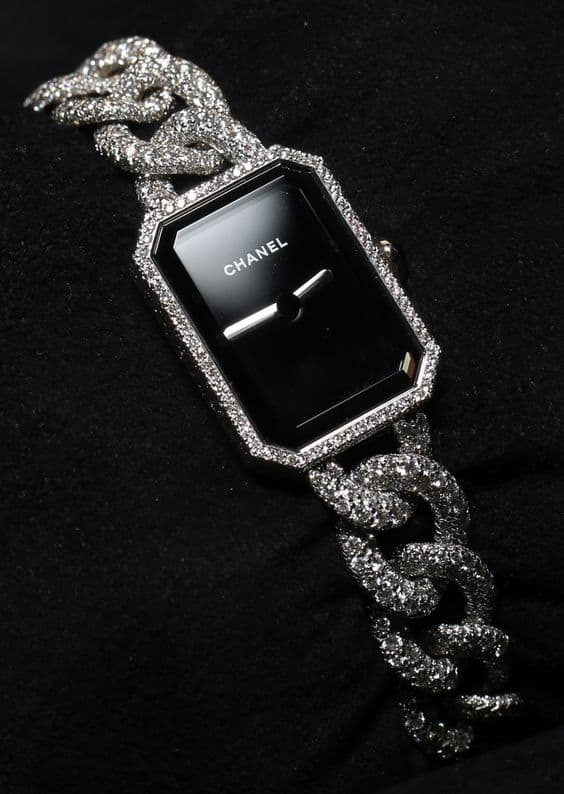 Chanel dress watch.