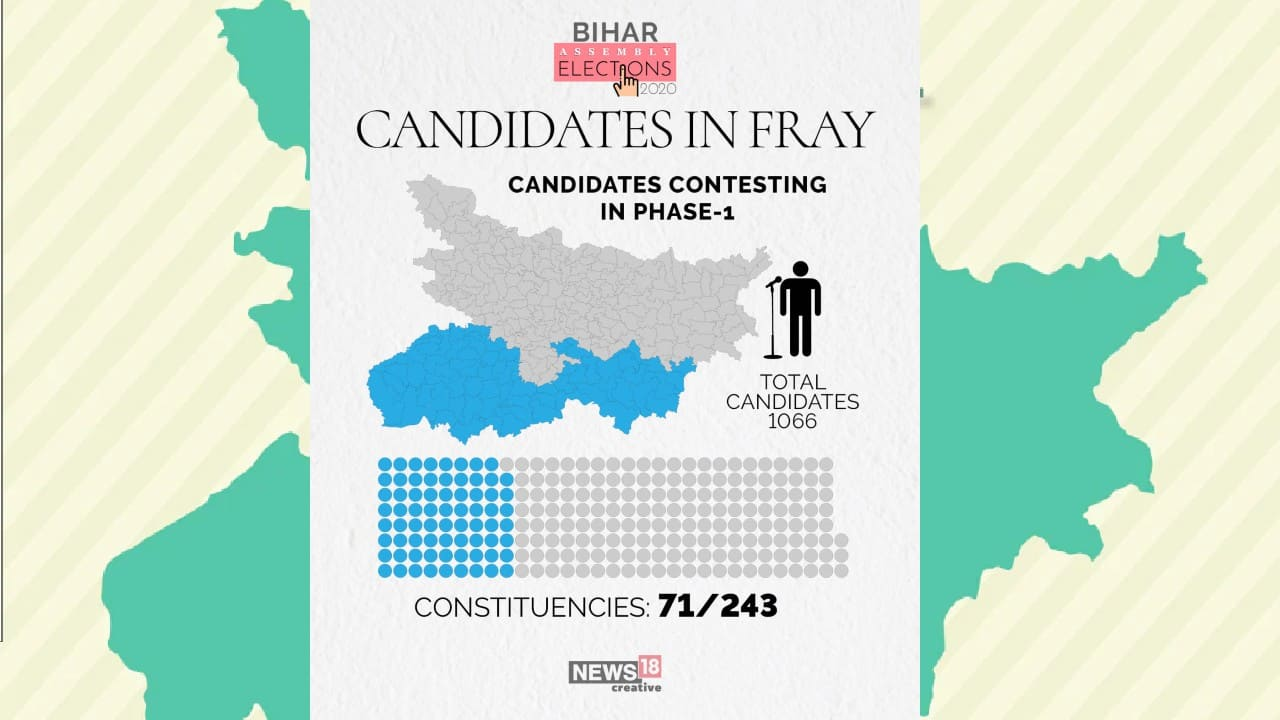 Bihar Election 2020   Phase 1: A look at candidates' qualifications and criminal records