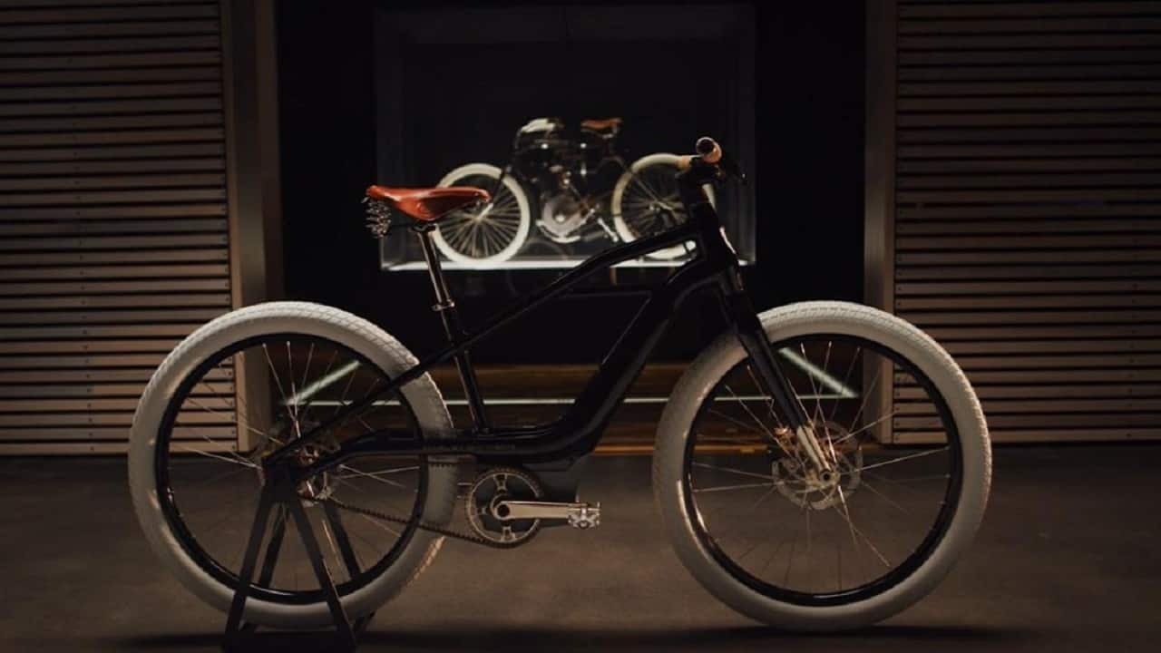 A look at Harley-Davidson's stunning new electric bicycle called Serial 1