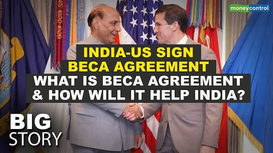 Big Story | In a major boost to bilateral defence and military ties, India - US ink landmark agreement BECA