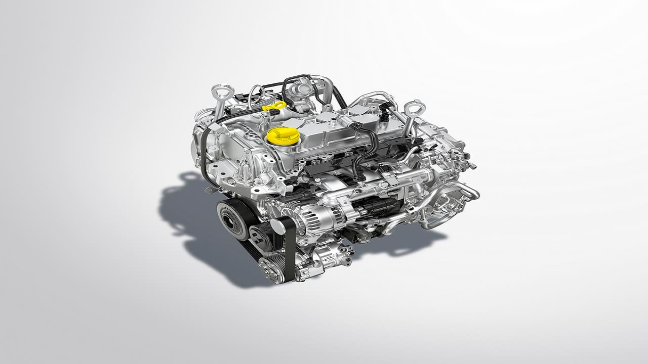 The Magnite will come with two petrol engine options, a 1.0 litre turbo petrol engine and a 1.0 litre naturally aspirated engine. There is no diesel option on offer (Image: Nissan)