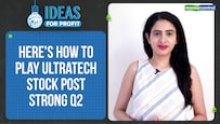 Ideas For Profit | UltraTech records robust revenue, profit growth:Here's how investors should play the stock
