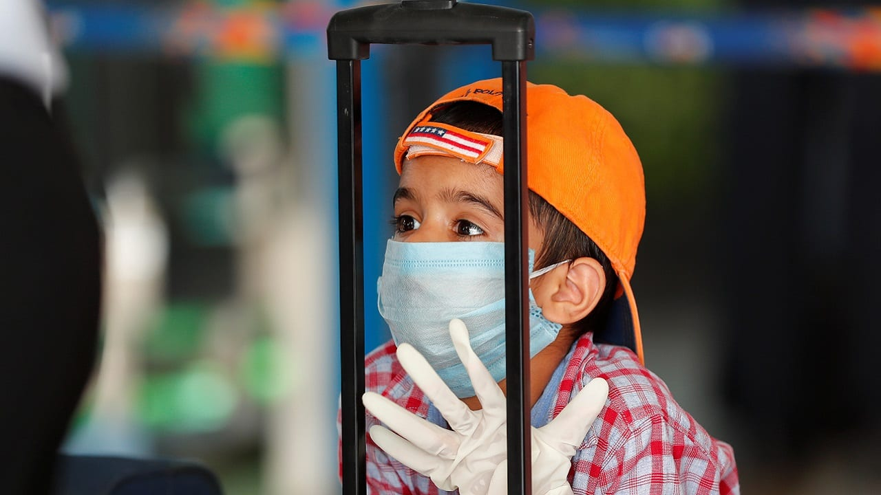 Air travel during COVID-19: Are masks compulsory for children below the age of 2?