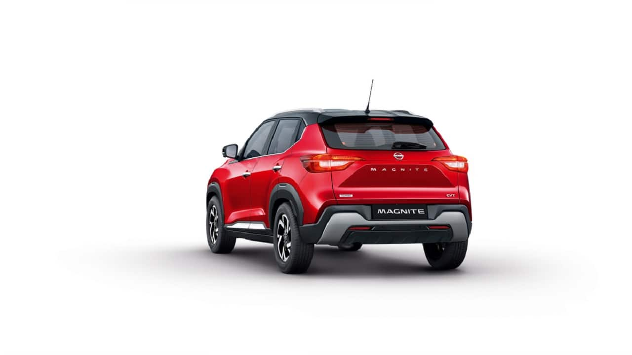 The Magnite is the first sub-4 meter compact SUV from Nissan and the 12th product in the segment overall. Magnite's platform is CMF A+ which is the same as the Renault Triber. The same platform will also be used for the upcoming Renault compact SUV codenamed HBC. (Image: Nissan)