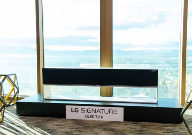 LG launches world's first rollable TV in South Korea for Rs 64 lakh