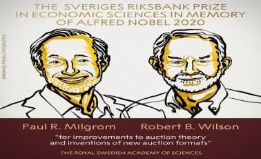 Economic Sciences Nobel | Auctions, they're all around us