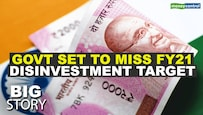 Big Story | Govt does not expect to meet its FY21 disinvestment target of Rs 2.1 lakh crore