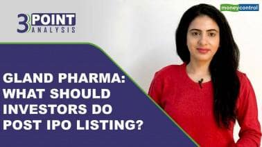 3-Point Analysis | Gland Pharma: What should investors do with stock now?