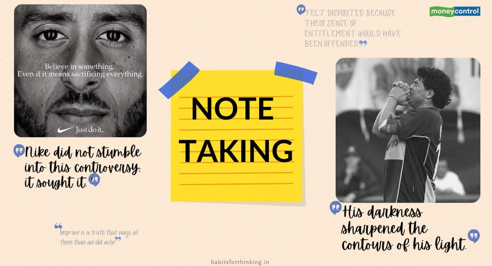The enormous value of note-taking in being successful