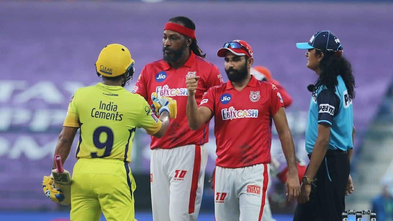 IPL 2020: Chennai Super Kings wins the last match, hastens Kings XI Punjab exit