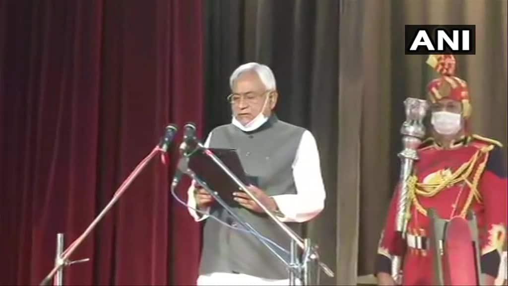 Bihar portfolio allocation: Nitish Kumar retains Home department; Deputy CM Tarkishore Prasad gets Finance