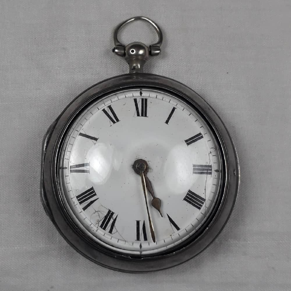 Aditya Sambhare's English pocket watch that dates back to 1789